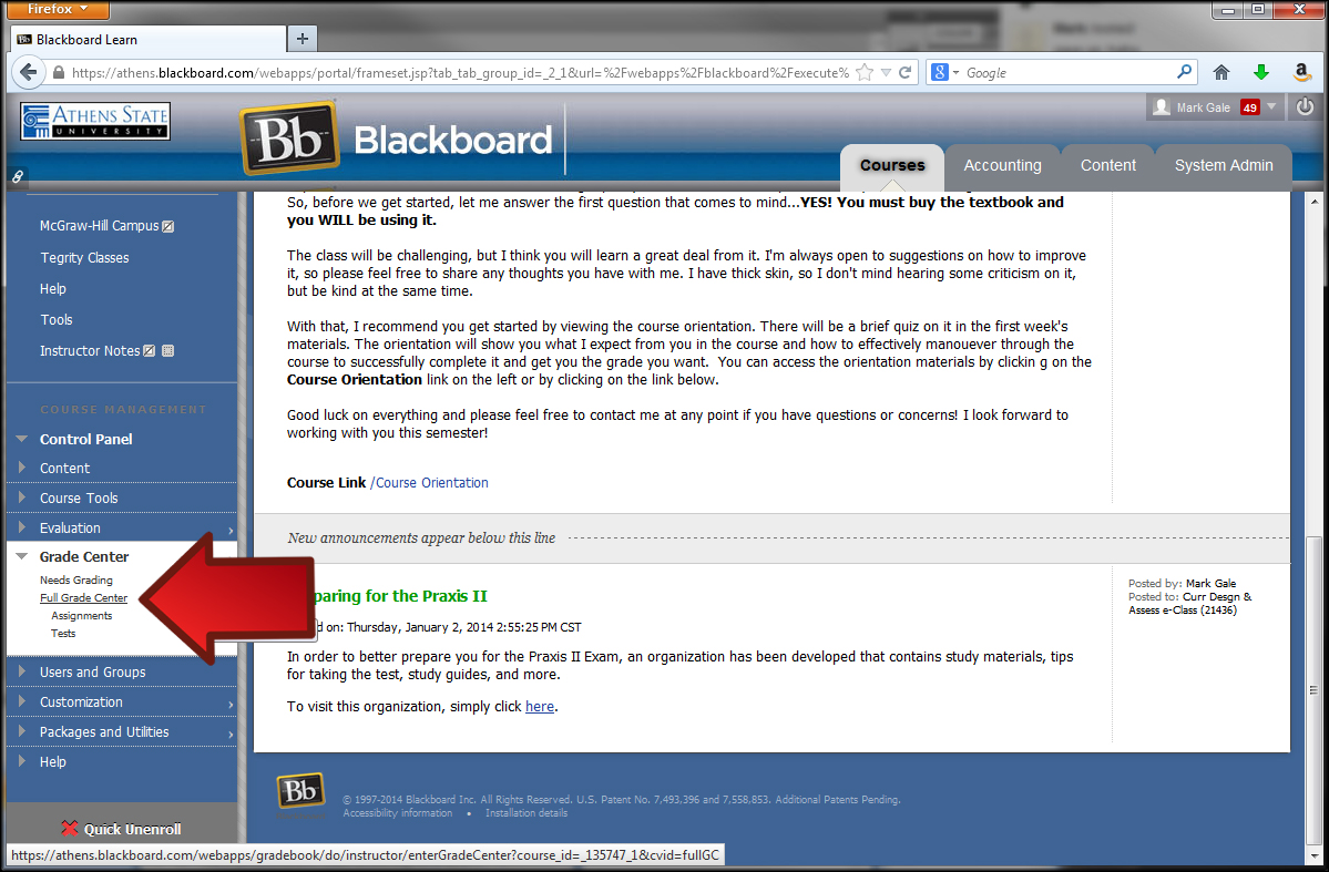 Screenr - DrClampitt: an assignment in Blackboard 9 11