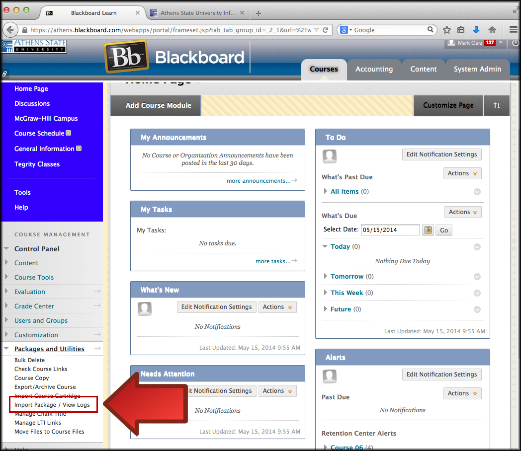 Blackboard Orientation Course | Cleveland State University